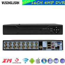 16 канальный видео Регистраторы Hi3531A 16CH 4MP DVR NVR H.264 + гибридный 6 в 1 для TVI CVI AHD 4MP 1080P Камера и 5MP IP Камера