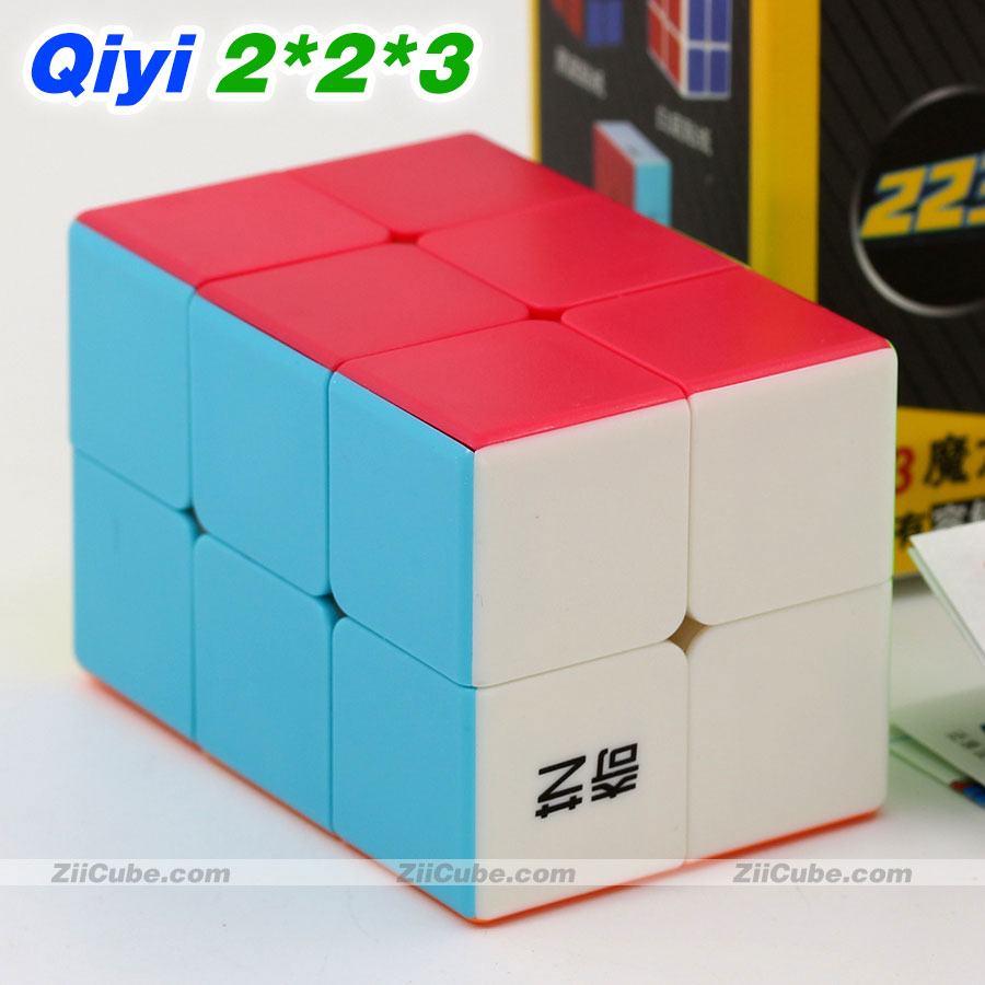 Magic Cube Puzzle QiYi(XMD) 2x2x3 223 322 Professional Educational Speed Cube Twist Wisdom Game Toys Gift