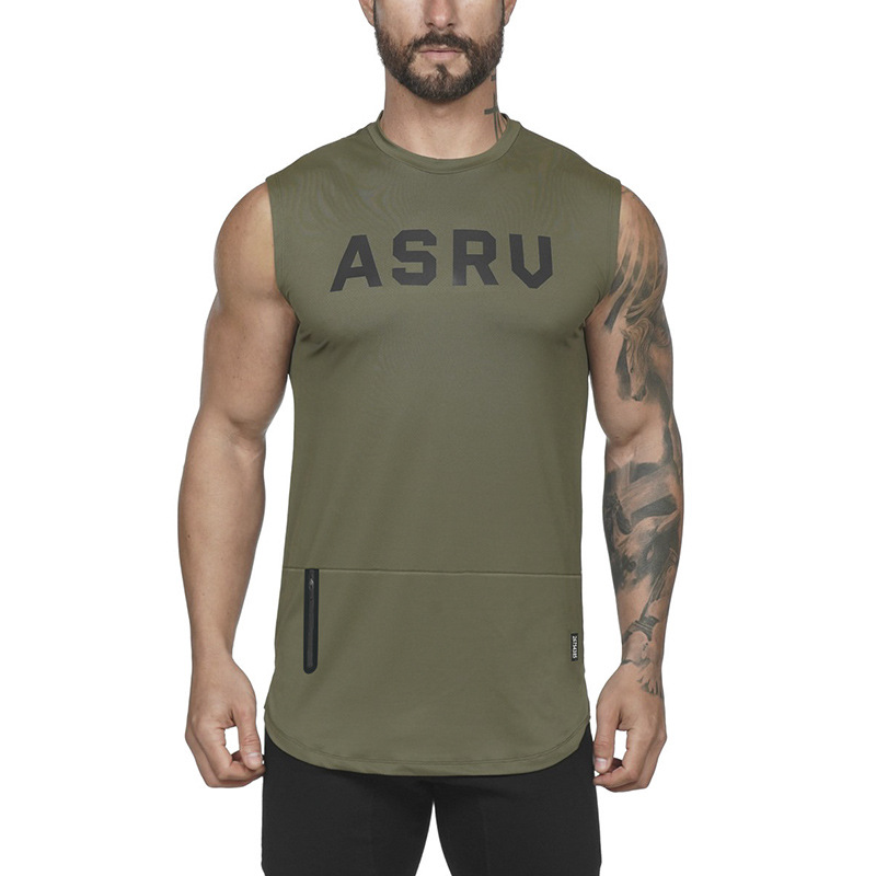 ASRV TECHNICAL SPORTSWEAR Fitness Men   Tank     Top   Army Camo Camouflage Mens Bodybuilding Stringers   Tank     Tops   Singlet Brand Clothing