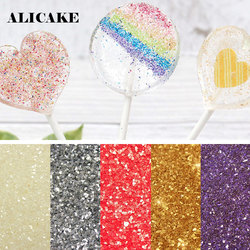5 Grams Edible Sprinkles Golden Edible Baking Flash Powder Lollipop Chocolate Macarons 24K Sequins Fondant For Cake Decoration