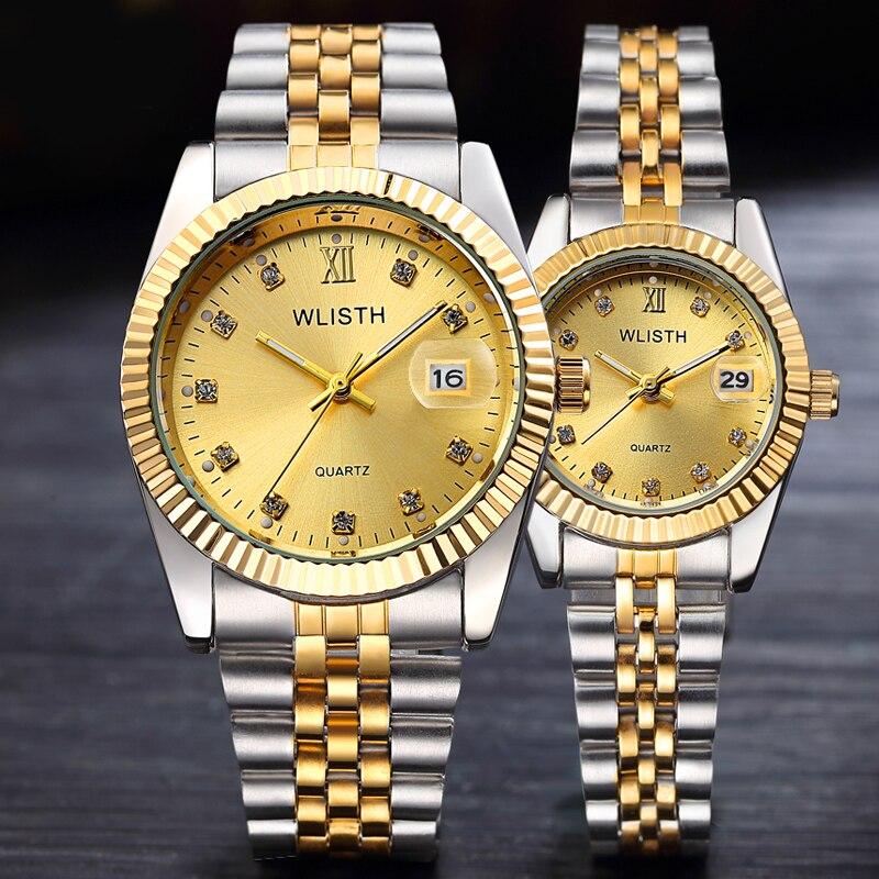 Men Wrist Watch Reloj Hombre 2019 Mens Watches Top Brand Luxury Women Watch Diamond Clock Automatic Date Saat Relogio Masculino