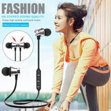 Magnetic Bluetooth 4.2 Adsorption Wireless S8 In-Ear Earphone With Mic Sports Headphone Bass Stereo Earpiece For All Phone