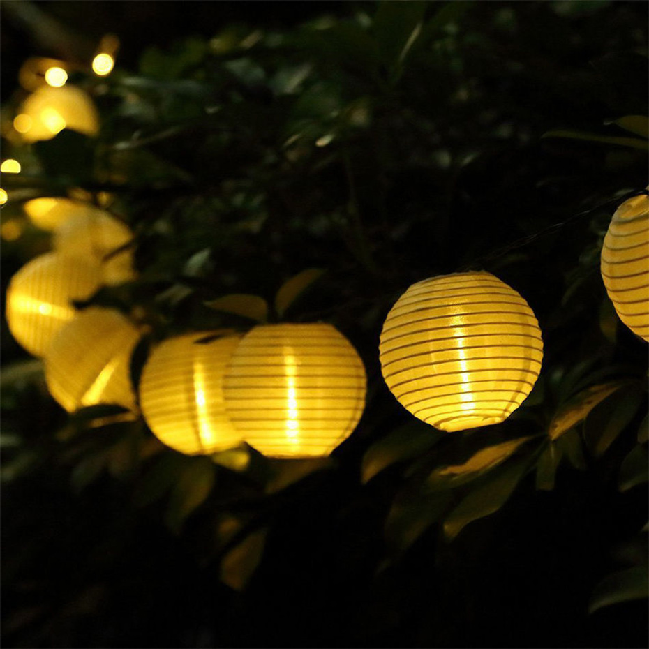 Garden Decoration Lights Solar Lantern String Lights For Garden Yard Fence Patio Terrace Christmas 5 7M 50leds LED Solar light