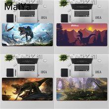 Keyboards-Mat Mouse-Pad Computer Dinosaur Anime Maiya Laptop Top-Quality Large