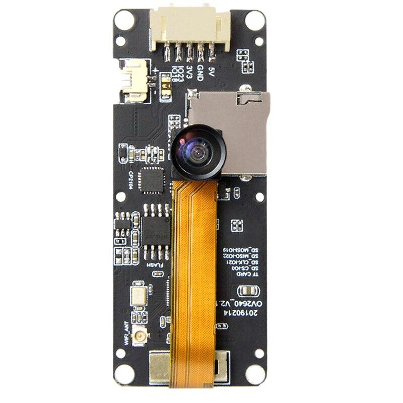 T-Camera Plus Esp32-Dowdq6 8Mb Spram Camera Module Ov2640 1.3 Inch Display Rear Camera(Fish-Eye Rear Camera)