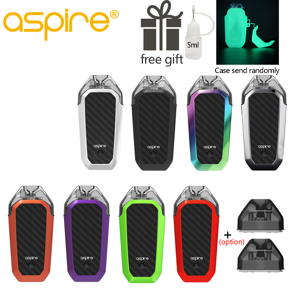 Original Aspire AVP AIO MTL starter Kit Pod Vape 2ml Capacity 1.2ohm Nichrome Coil Built-in 700mAh battery