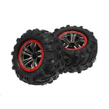 RCtown 2PCS Hub Wheel Rim amp Tires for Xinlehong 9125 1 10 2 4G 4WD RC Car Parts No 25-ZJ02 cheap Rubber Value 2 Bottom Plate 30 0*10 0*10 0cm PTO_0A8C Cars Assembly Category Other Assemblage