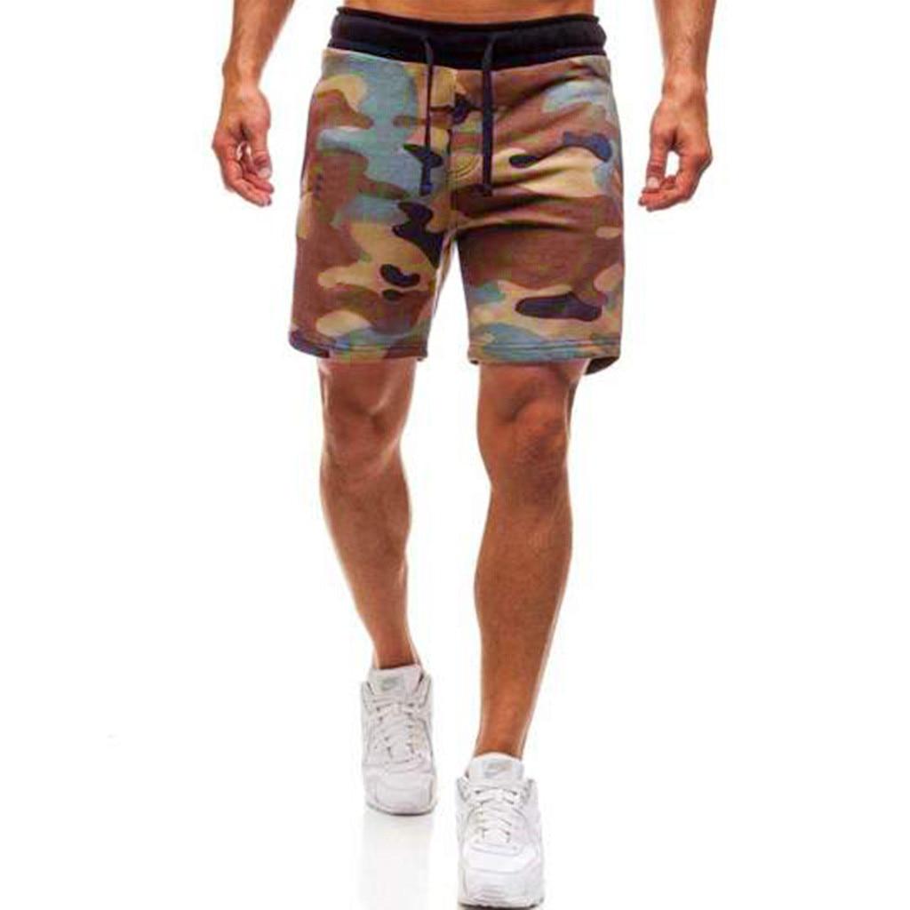 Casual Shorts Men Brand New Board Shorts 2019 WaterProof Elastic Waist Fashion Short Men Summer Camouflage Shrots Homme 12.4