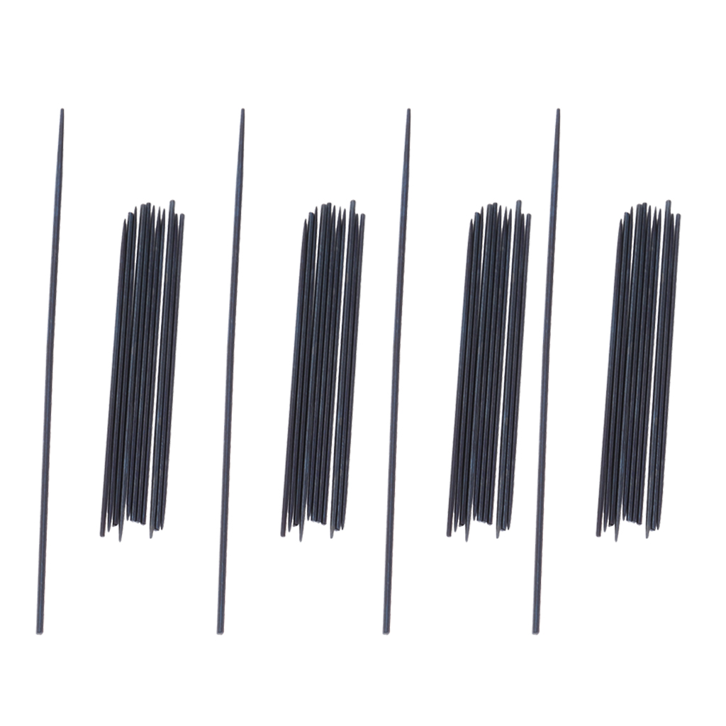 52PCS/Set Black 0.6-0.8mm Clarinet Spring  For Clarinet Repair Tools