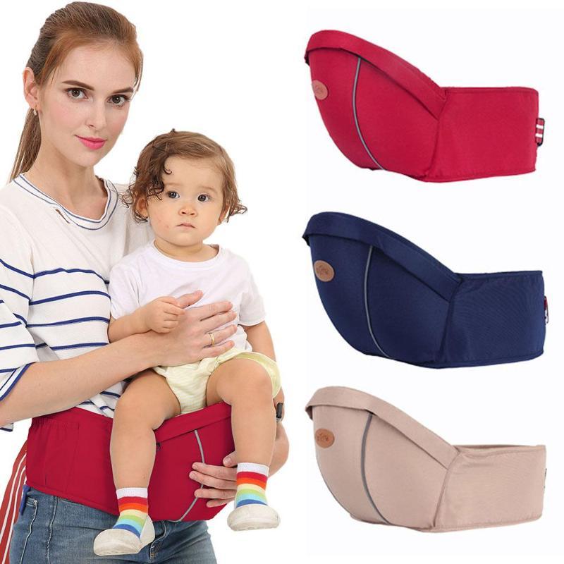 Ergonomic Baby Carrier Waist Stool Infants Hipseat Front Holder Adjustable Wrap Belt Sling Hold Backpack Carrier Toddler