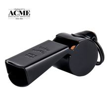 Acme 63 Carbon Black Brass Whistle Basketball Coach PE Teacher Training High Grade Sports Competition Whistle