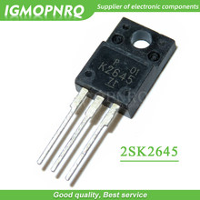 10pcs free shipping 2SK2645 K2645 TO-220F 600V 9A 1.2 MOSFET N-Channel transistor new original