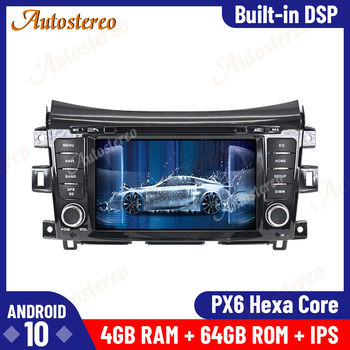 Android 10.0 4GB+64GB Car Radio GPS Navigation for NISSAN NP300 Navara Terra Multimedia Player Auto Stereo Radio Tape Recorder image