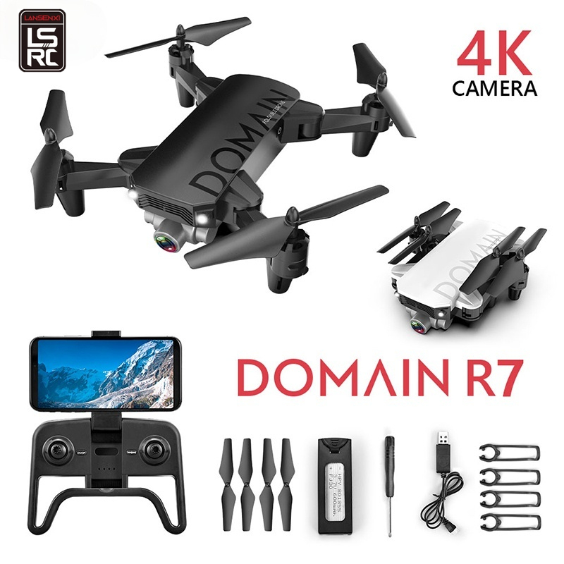 LSRC R7 Mini drone 4k profesional Quadcopter With Camera GPS Photography Wifi Helicopter HD Surveillance FPV rc helicopter Toys