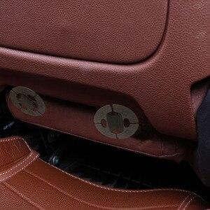 Image 3 - Futrzane peleryny na siedzeniu samochodu australijskiego 100% futra z owczej skóry Mouton premium pokrycie siedzenia samochodu szary dla samochodu lada granta