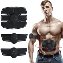 цена на Abdominal Muscle Trainer Stimulator Body Slimming Machine Muscle Exerciser Training Tool Fat Burning Massager Fitness Equipment