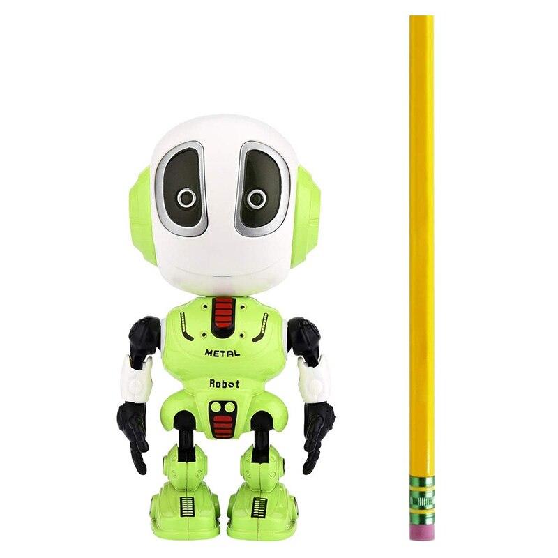 Записывающий говорящий робот для детей, детские игрушки, развивающие роботы, игрушки, светодиодный контроль глаз, лучший подарок на день ро...