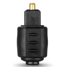 Mini jack fêmea ótico do adaptador 3.5mm do o à tomada masculina de toslink de digitas para o amplificador