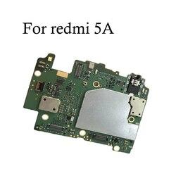 100% テスト全作品オリジナルのロック解除 xiaomi redmi 5A 16 ギガバイト 32 ギガバイトのマザーボードコリア redmi 5A ロジックボード