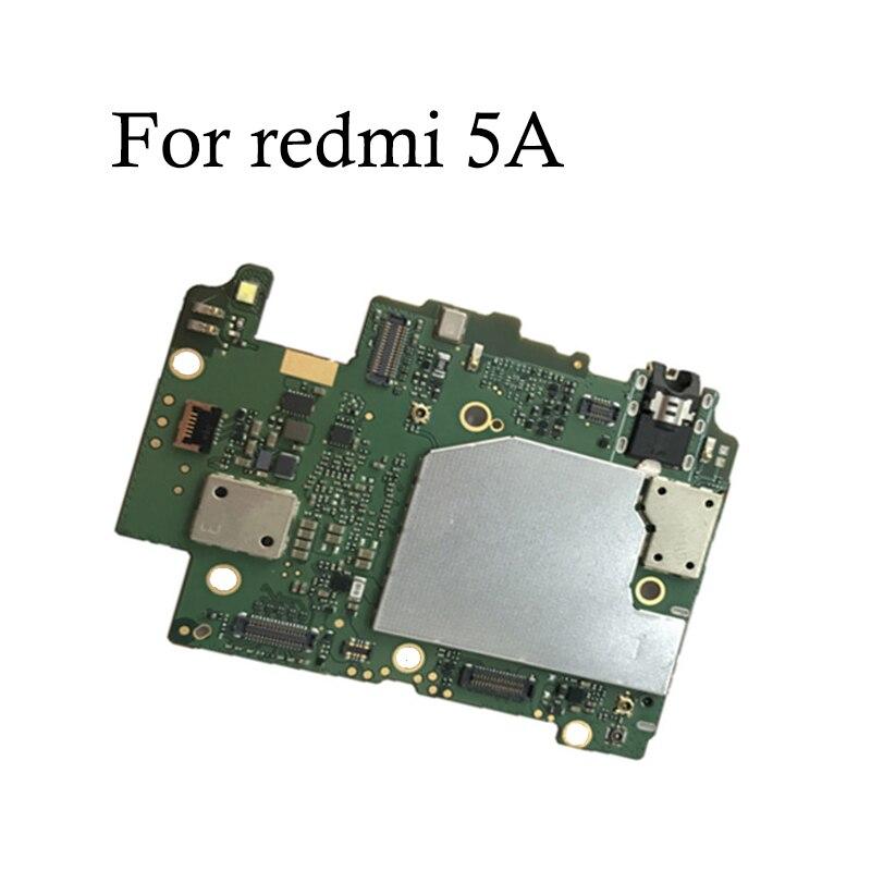 100% Getestet Volle Arbeit Original Entsperren Motherboard Für xiaomi Redmi 5A 16gb 32gb Für hongmi Redmi 5A Logic board mainboard-in Handy-Flex-Kabel aus Handys & Telekommunikation bei