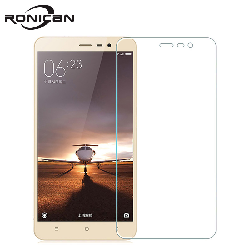 For Redmi Note 3 Pro BlueAnti Tempered Glass For XiaoMi RedMi 3 3S 3Pro 4A Note3Pro  Screen Protector  Glass Protective Film