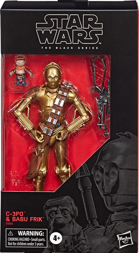 6inch Hasbro Star wars C-3PO Babu Action Figure Collection toys for christmas gift with box