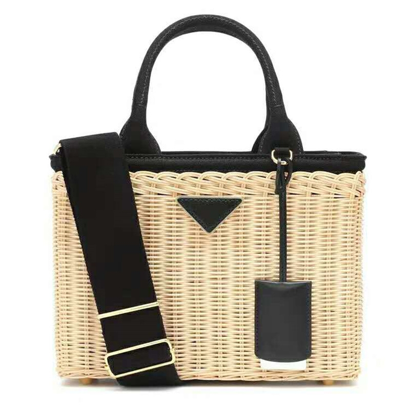 Women's bag rattan woven bag imported from Vietnam, a self-made rattan generation of hair.
