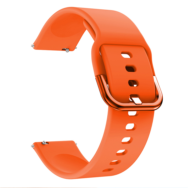 Wearable Soft Silicone Watch Strap, Replacement Silicon Gel Band For Samsung Galaxy Watch Active, For Amazfit Bip Youth