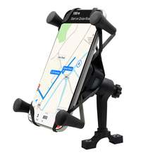 Мотоциклетный держатель для телефона 2 в 1 быстрая зарядка 30