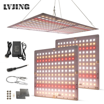 New 2000W Led Grow Light Thin Panel Full Spectrum Phyto Lamp For Indoor Plants Leds Fitolamp Grow Tent With 36V 5A Power Supply