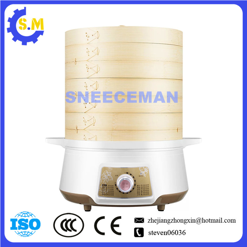 Electric steamer Multi-functional household multi-layer bamboo electric steamer with large capacity  Boiler Commercial use