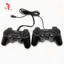 Usb 유선 게임 패드 2 speler joypad for pandora box 아케이드 versie familie versie en console bartop 3 p 4 p(China)
