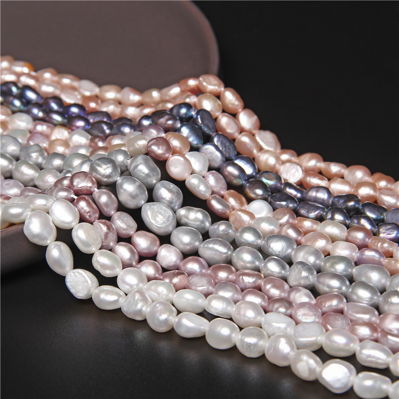 100% Natural Freshwater Baroque Pearl Beads for Jewelry Making Irregular Pearl Beads DIY Earrings Bracelet Necklace 14