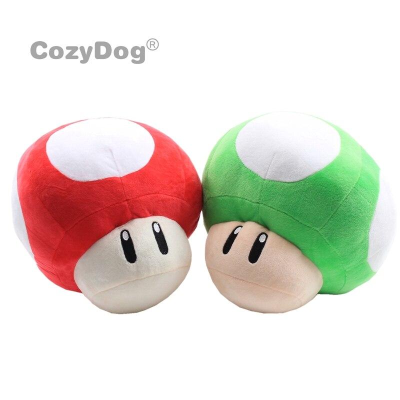 26cm Mario Mushroom Plush Toys Doll Stuffed Animals Toys Anime