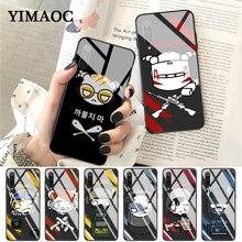 YIMAOC rainbow six siege Pattern Glass Case for Xiaomi Redmi 4X 6A note 5 6 7 Pro Mi 8 9 Lite A1 A2 F1