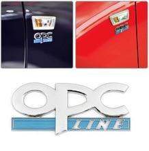 1pcs 3D metal OPC LINE car label tail stickers emblem Badge styling for Buick Encore Excelle GT XT Enclave Regal Larcosse
