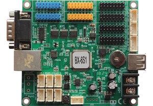 Image 1 - Onbon BX 6S1 BX 6S1 controlador de monitoreo 100M red RS232 USB integrado para pantalla de sistema de clúster led