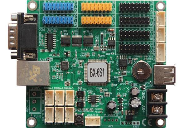 Onbon BX 6S1 BX 6S1 controlador de monitoreo 100M red RS232 USB integrado para pantalla de sistema de clúster led
