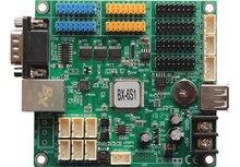 Onbon bx 6s1 BX 6S1 controlador de monitoramento 100 m rede rs232 usb a bordo para display led sistema cluster