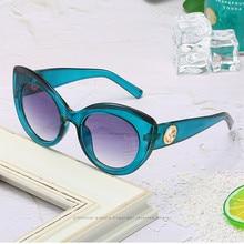 Classic retro cat eye sunglasses fashion sexy leopard print ladies travel sun glasses
