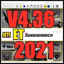 Jungheinrich JETI ET 4.36 2021 pièces catalouge + patch non expiré