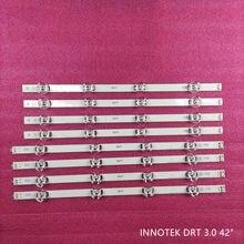 Tira retroiluminação LED para Lg drt 3.0 42 DIRETO 42LB551V 42LB552V 42LF580V 42LB6200 42LB650V 42LF652V 42LY310Ca 42LY345C 42LY340C