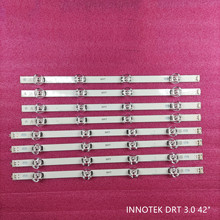 New Kit 8pcs LED strip Replacement for LG LC420DUE 42LF650 42LB561V 42LB5610 INNOTEK DRT 3.0 42 inch A B 6916L-1957C 6916L-1956C