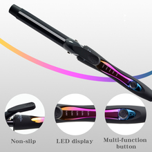Ceramic Hair Curler 9 mm Wand Curling Iron Professional Hair Curlers With Dual Voltage