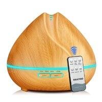400 ml de controle remoto aromaterapia difusor eletrônico ultra sônico aroma umidificador de óleo essencial aromaterapia umidificador de ar|Umidificadores| |  -