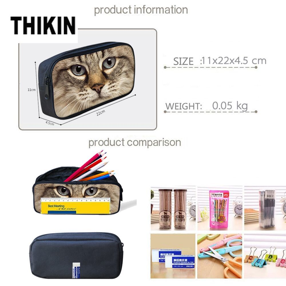 THIKIN Afro Black Girl Magic Melanin Poppin 3pcs set Children Primary School Bags for Students School Bag Custom Kids Schoolbag in School Bags from Luggage Bags