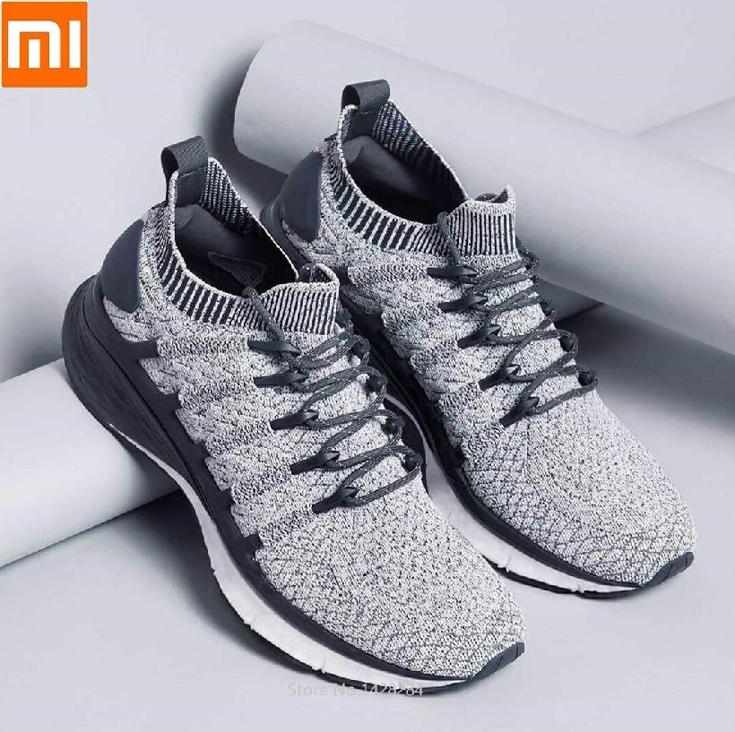 Xiaomi mijia chaussures de course pour hommes Sports de plein air confortable respirant choc lent Durable Jogging baskets