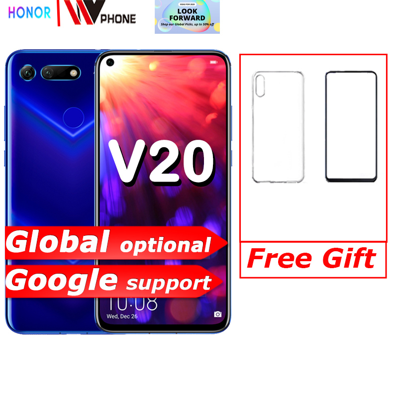 Фото. Honor v20 HUAWEI honor вид 20 Link Turbo смартфона honor V20 Android 9 Поддержка NFC, быстрая зарядк