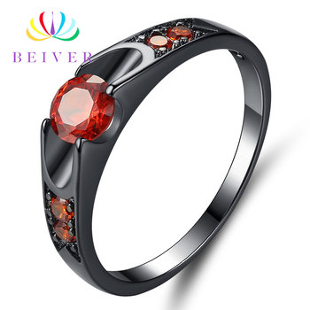 Rose Gold Color Assembly Anel Feminino Bijoux Aneis 0.5 Ct Engagement Ring Zirconia Jewelry Rings 13