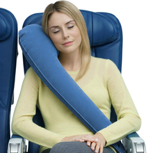 Full Support Travel Pillow Inflatable Embrace Neck Adjustable Boyfriend Body  Journey Office Outing